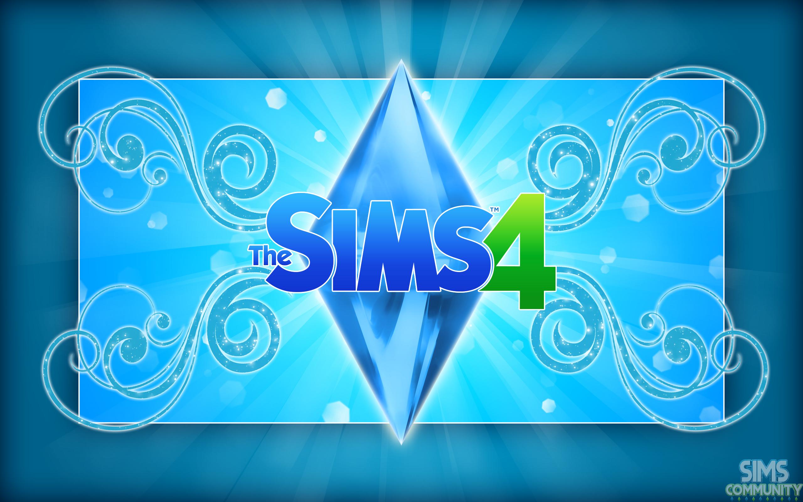 Pics Photos The Sims 4 Logo Wallpaper Hd